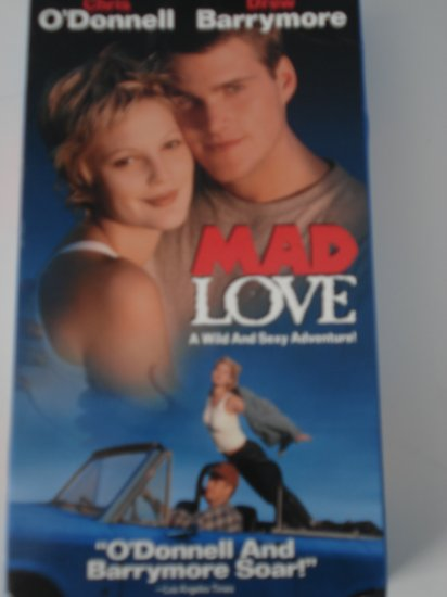 Mad Love Vhs Tapes Movies Drew Barrymore Chris O'Donnell Drama Adventure