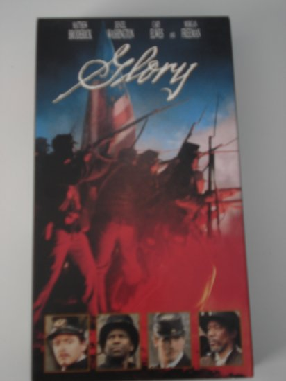 VHS Movies Tapes Glory War Movie Matthew Broderick Denzel Washington