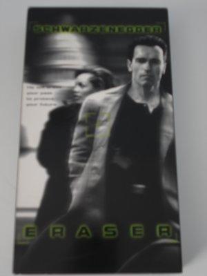 VHS Movies Tapes Eraser Arnold Schwarzenegger Vanessa Williams