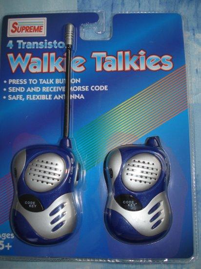 Toys 4 Transiston Walkie Talkies New