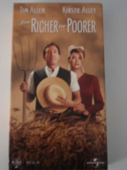 VHS Tapes Movies For Richer Or Poorer Tim Allen Kirstie Alley Comedy