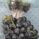 Kitchen Decor Ceramic Purple Grapes Fruit Pickers New