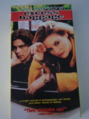 Vhs Movies Tapes Excess Baggage Alicia Silverstone Benicio del Toro