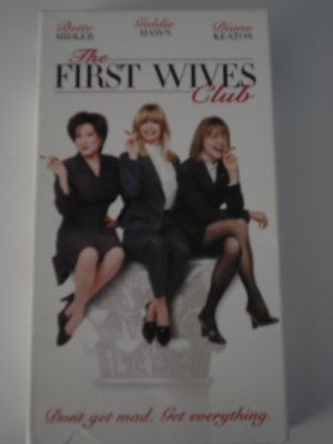 Vhs Movies Tapes The First Wives Club Bette Midler Goldie Hawn Diane Keaton Comedy