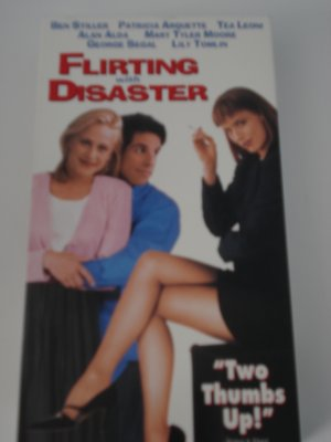 VHS Movies Tapes Flirting With Disaster Patricia Arquette Ben Stiller Tea Leoni