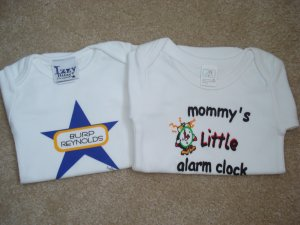 Infant Baby Boy Or Girl Onsies 2 Sets 3-6 Months And 6-9 Months New