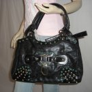 NWT Designer Inspired Jewel Rhinestone Studded Bag Tote