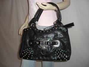 NWT Designer Inspired Jewel Rhinestone Studded Bag Tote