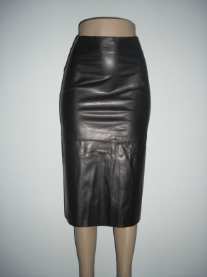 "NWT vlv Sexy Rockabilly Vegan ""Leather"" Pencil Skirt XS"