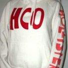 015. nwot hollister white hoodie