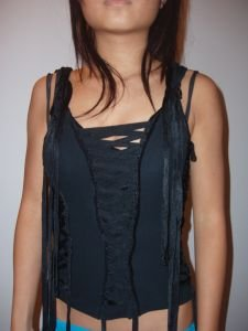 021. nwot express black corset