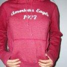 028. nwot american eagle sanded red hoodie