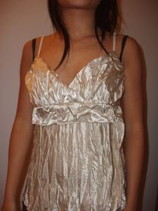 033. nwot charlotte russe lace tank