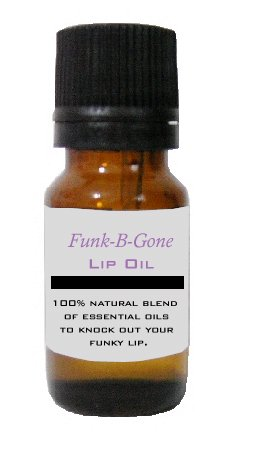 1/4th oz Funk-B-Gone Lip Oil - Get Rid of Cold Sores!