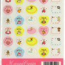 SANRIO RARE 1997 MARRON CREAM CLEAR STICKERS CUTE