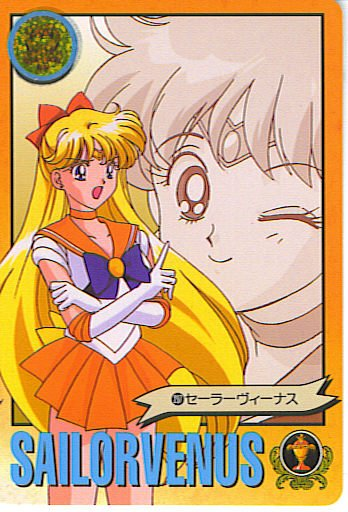 SAILOR MOON -SAILOR VENUS- GRAFFITI 6 CARD #237
