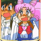SAILOR MOON -CHIBI WITH FRIEND- GRAFFITI 7 CARD #268