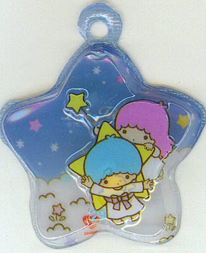 SANRIO LITTLE TWIN STARS 2 IN 1 DARK BLUE STAR SHAPE #29