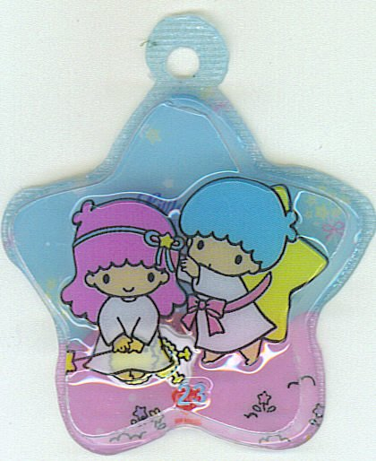 SANRIO LITTLE TWIN STARS 2 IN 1 BLUE STAR SHAPE #23