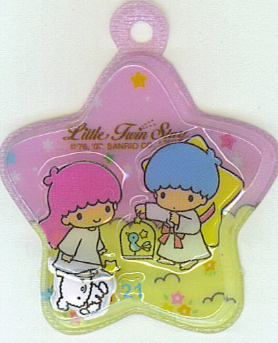 SANRIO LITTLE TWIN STARS 2 IN 1 PINK STAR SHAPE #21