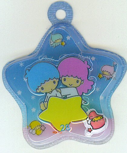 SANRIO LITTLE TWIN STARS 2 IN 1 DARK BLUE STAR SHAPE #28