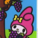 SANRIO MY MELODY STICKER CARD COLLECTION -GRAPE-