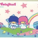 SANRIO LITTLE TWIN STARS STICKER CARD COLLECTION -STAR & RAINBOW-