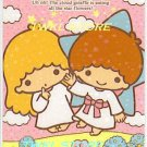 SANRIO LITTLE TWIN STARS PRISMATIC STICKER CARD COLLECTION -GARDENING-