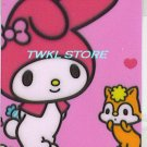 SANRIO MY MELODY STICKER CARD COLLECTION -WONDERED-