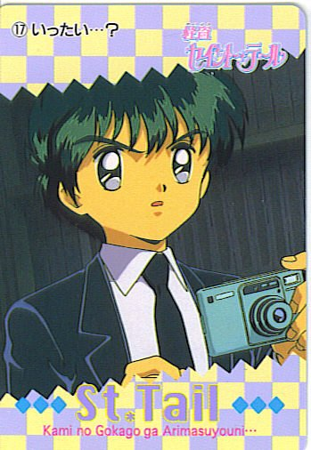 SAINT TAIL JAPAN SEGA 1996 ANIME CARD #17