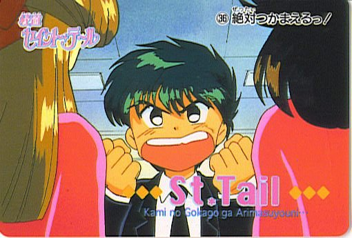 SAINT TAIL JAPAN SEGA 1996 ANIME CARD #36