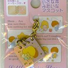 CUTE LITTLE TWIN STARS SANRIO RARE GOLD-LIKE METAL BOOK CHARM