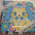 KAWAII JAPAN SANRIO SEGA JEWEL PET PRISM SILVER STICKER SEAL CARD #2 BLUE PUPPY DOG