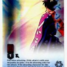 The Wind Scar CARD #91  INUYASHA TCG JAKI RARE PRISM FOIL CARD CARD GAME