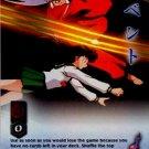 You Tried to Kill Me CARD #208  INUYASHA TCG TETSUSAIGA RARE PRISM FOIL CARD CARD GAME