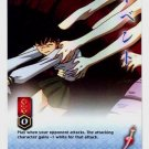 Let Go of Me! CARD #222  INUYASHA TCG TETSUSAIGA RARE PRISM FOIL CARD CARD GAME