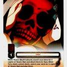 Yura's Skull CARD #241  INUYASHA TCG TETSUSAIGA RARE PRISM FOIL CARD CARD GAME