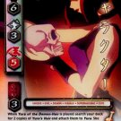 Yura of the Demon-Hair   CARD #187  INUYASHA TCG TETSUSAIGA  RARE PRISM FOIL CARD  GAME