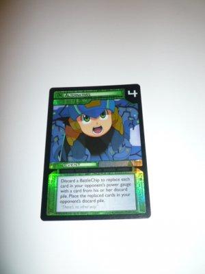 MEGAMAN GAME CARD MEGA MAN SPECIAL PROMO PRISM FOIL  3ST83 NO ALTERNATIVES