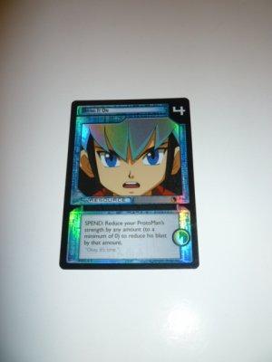 MEGAMAN GAME CARD MEGA MAN SPECIAL PROMO PRISM FOIL 2R69 BRING IT ON
