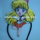 FLAT FIGURE SAILOR MOON SAILOR VENUS WITH HAIR BAND TIE