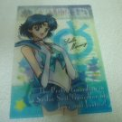 SAILOR MOON CRYSTAL JAPAN CLEAR MINI FILE  SAILOR MERCURY
