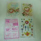 SAILOR MOON JAPAN KIRA LOCKET WAND SEAL MINI STICKER ENVELOPE PAPER CARD