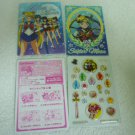 SAILOR MOON JAPAN KIRA BOW INNER CHIBIMOON MINI STICKER ENVELOPE PAPER CARD