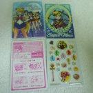 SAILOR MOON JAPAN KIRA BOW INNER CHIBIMOON MINI STICKER ENVELOPE PAPER CARD