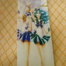 SAILOR MOON MANGA BOOKMARK CARD URANUS NEPTUNE