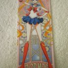 SAILOR MOON CRYSTAL  BOOKMARK CARD MOON  STAINED GLASS ART