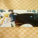 SAILOR MOON CRYSTAL  BOOKMARK CARD SERENITY ENDYMION BLUE ROSES