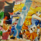 SAILOR MOON CRYSTAL  BOOKMARK CARD SET OF 5 INNER SENSHI