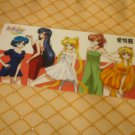 SAILOR MOON CRYSTAL  BOOKMARK CARD INNER GROUP CASUAL -A